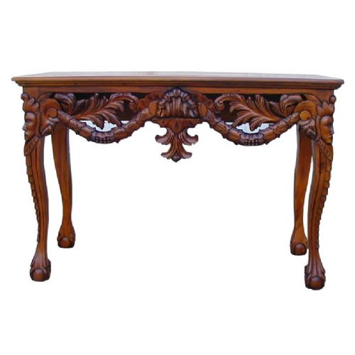 Console / Hall Table Chippendale Design